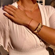 צמיד לאישה, מרוקאי, זהב צהוב 14 קראט