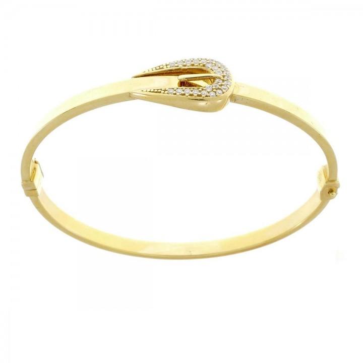 Браслет для женщины, желтое золото 14к