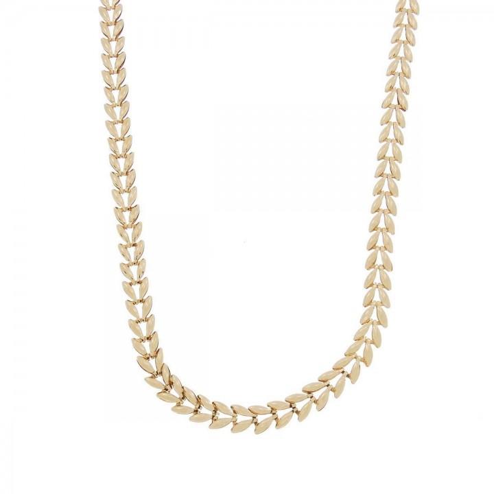 Цепочка для женщины, красное золото, длина 50 см