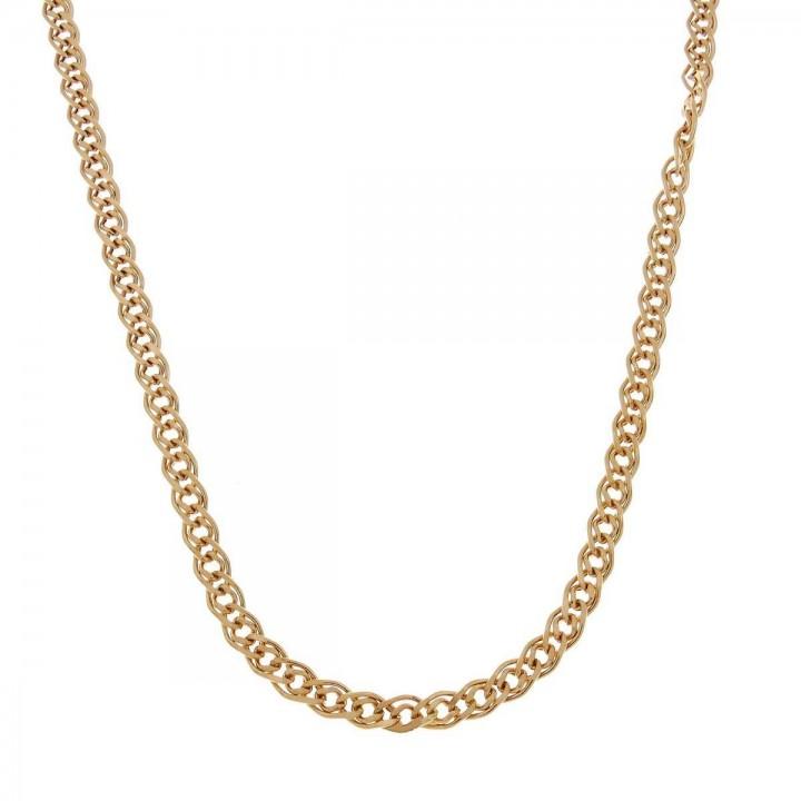 Цепочка для женщины, красное золото, длина 60 см