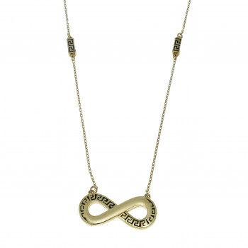 Chain for a woman, 14K yellow gold, length 45 cm