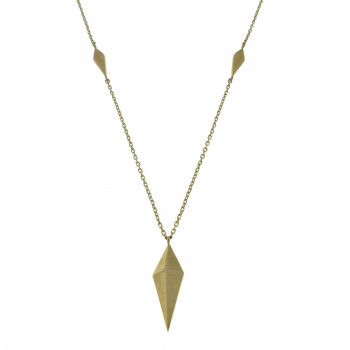 Chain for a woman, 14K yellow gold, length 48 cm