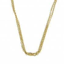 Chain for a woman, 14k yellow gold, length 42 cm