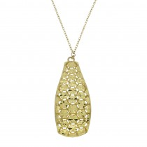 Necklace for a woman, 14 k yellow gold, length 46 cm