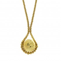 Necklace for a woman, 14 k yellow gold, length 48 cm
