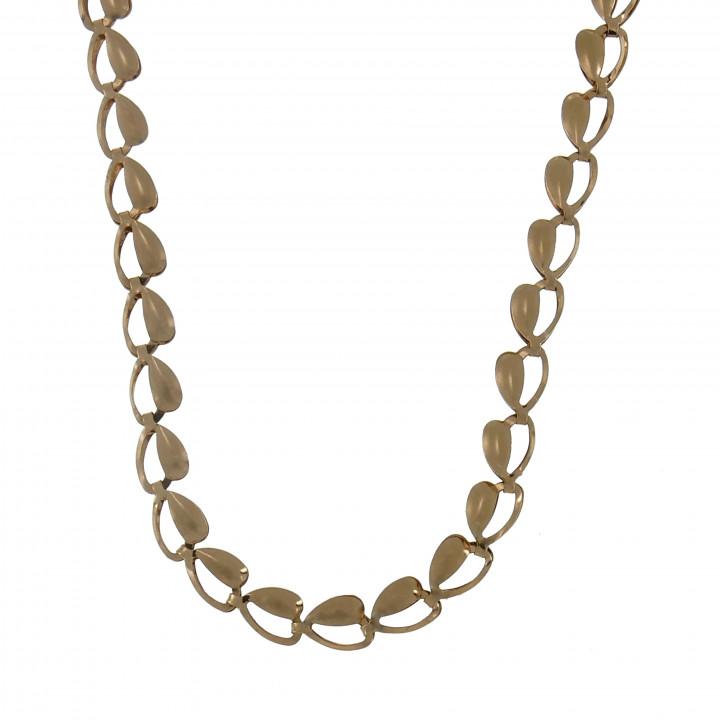 Женская цепочка, красное золото, длина 47 см