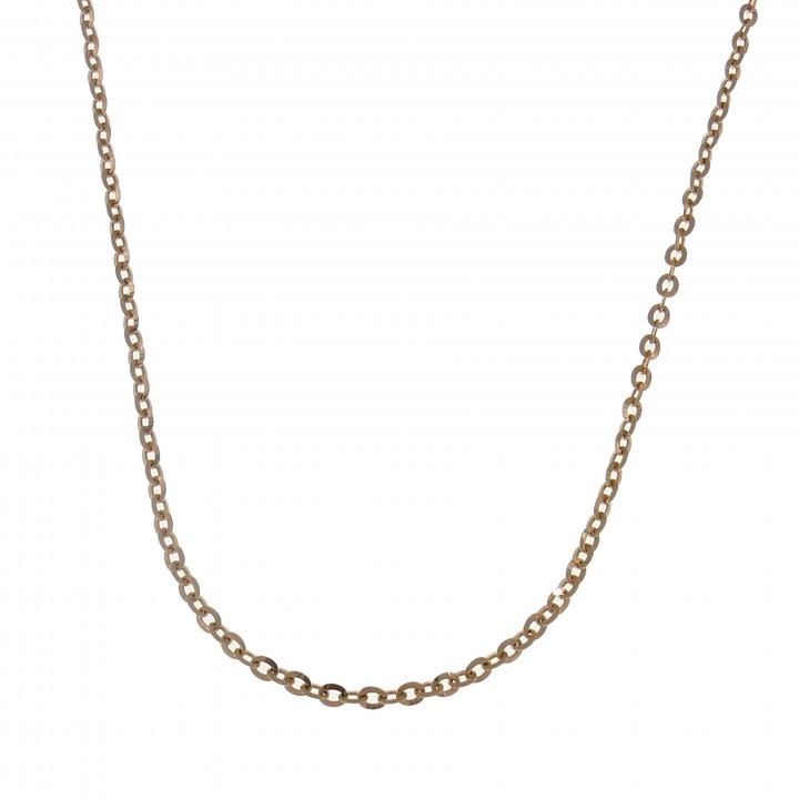 Женская цепочка, красное золото 14 карат, длина 50 см