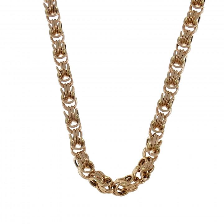 Женская цепочка, красное золото, длина 45 см