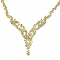 Necklace for women, 14K yellow gold
