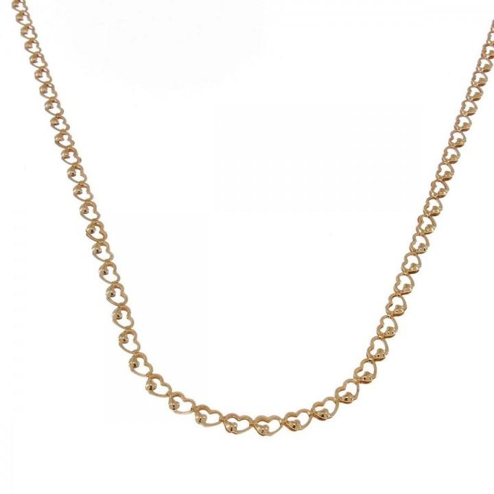 Chain for women, 14k yellow gold, length 56 cm
