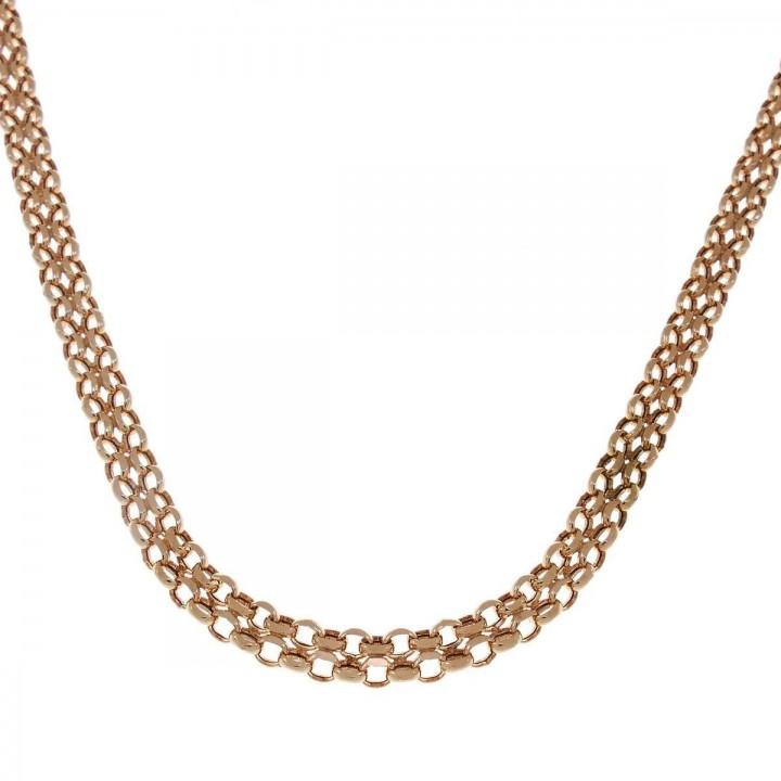 Chain for women, 14k yellow gold, length 42 cm