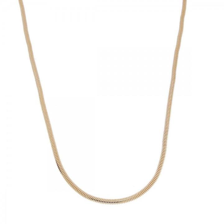 Цепочка для женщины, красное золото, длина 49 см