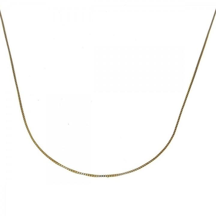 Цепочка для женщины, красное золото, длина 45 см