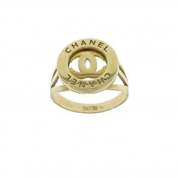 Ring for a woman, 14K yellow gold