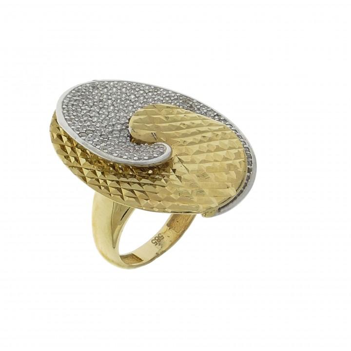Широкое кольцо для женщины