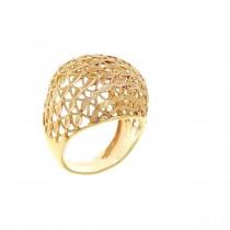 Кольцо для женщины, желтое золото 14 карат