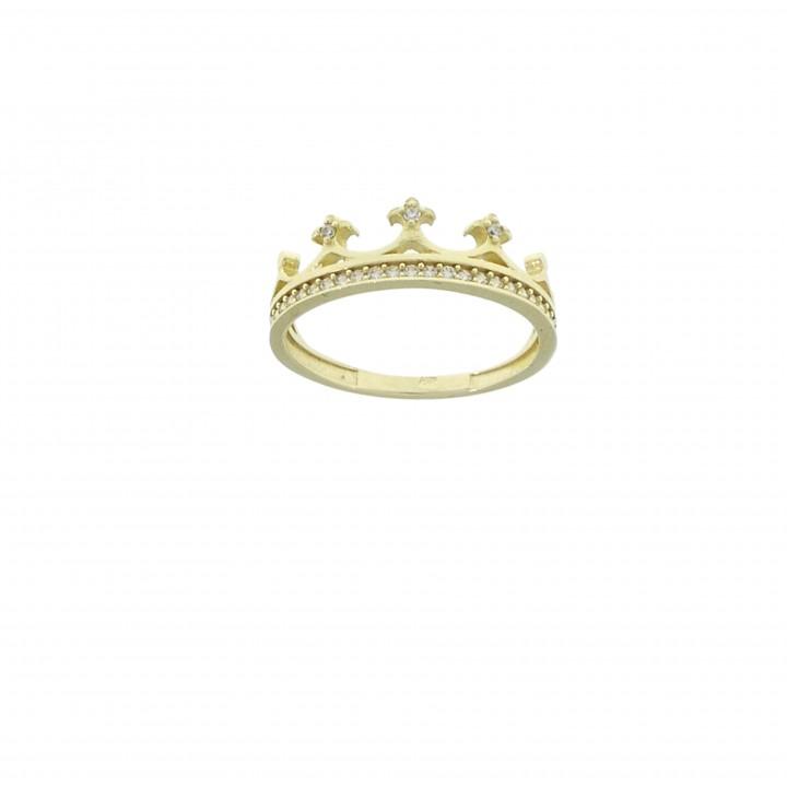 טבעת לנשים, זהב אדום 14 קראט