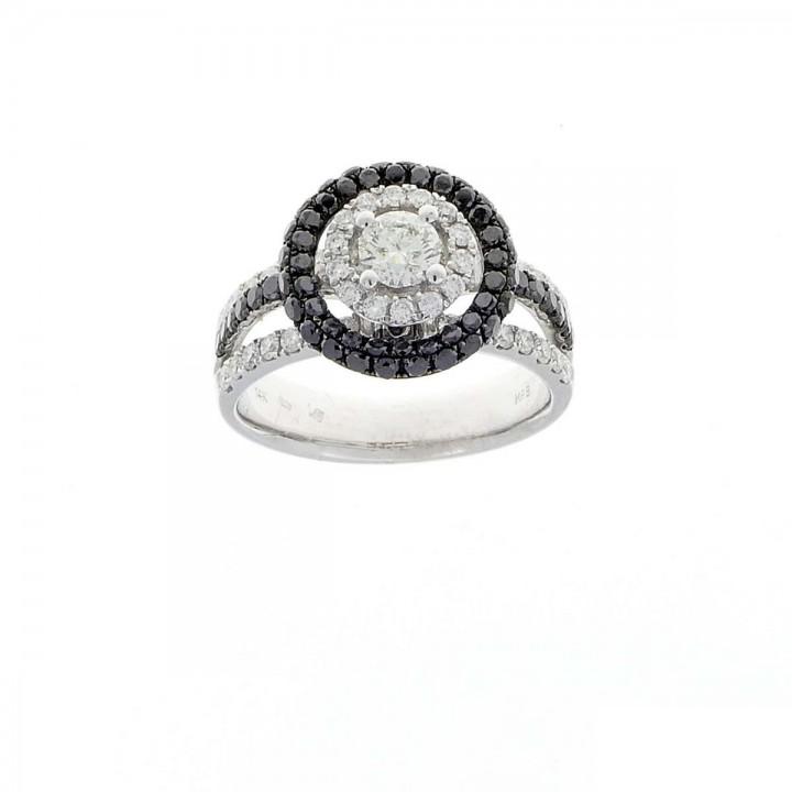 Кольцо с бриллиантами 2 карата