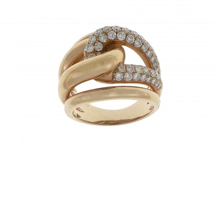 Кольцо с бриллиантами 1.73 карата