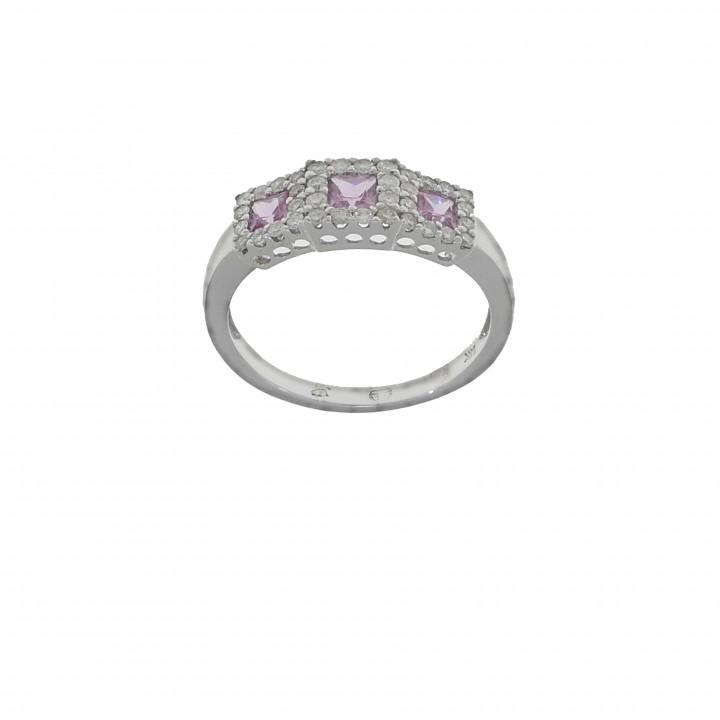 Кольцо с бриллиантами 0.32 карата