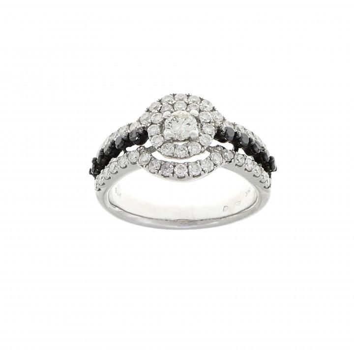 Кольцо с бриллиантами 1.1 карат